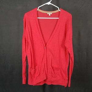3 for $12- Small Gap Coral Cardigan